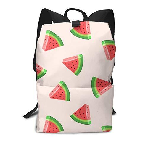 BOFJHASIFHAOAS Printed Schoolbag Boys Girls Backpack Teens Bookbag Summer Watermelons