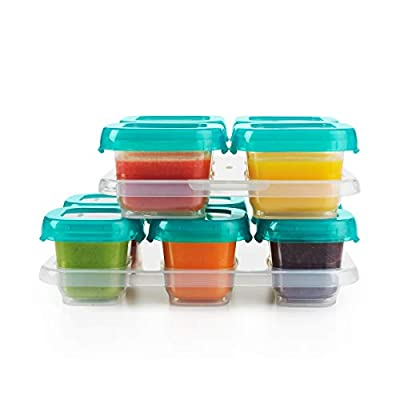 OXO Tot 12-Piece Baby Blocks Set, Teal by Oxo Tot