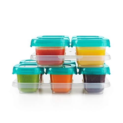 Lowest Price! OXO Tot 12-Piece Baby Blocks Set, Teal
