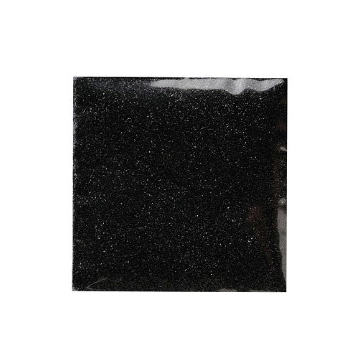 軽量フォークグリップピカエース ネイル用パウダー ピカエース ラメメタリック #507 ブラック 2g アート材