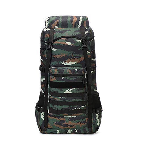 GXCX Mountaineering Bag Outdoor Travel Backpack, Large Capacity 70 Liters Waterproof Luggage Rucksack, Suitable for Outdoor Hiking Travel 4