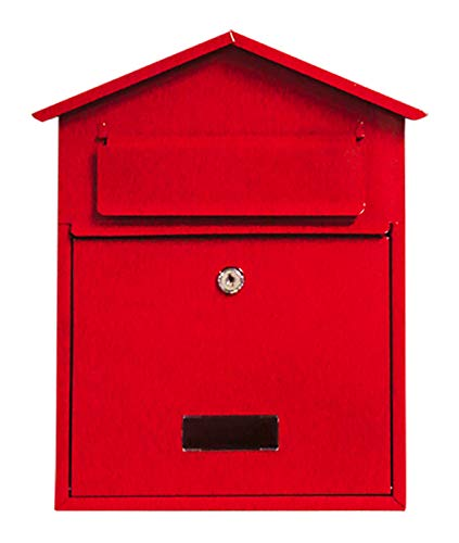 ***Free DELIVERY***Mailbox Postbox Letterbox Wall Mounted Lockable 2 Keys Steel Letter Box Post Box...