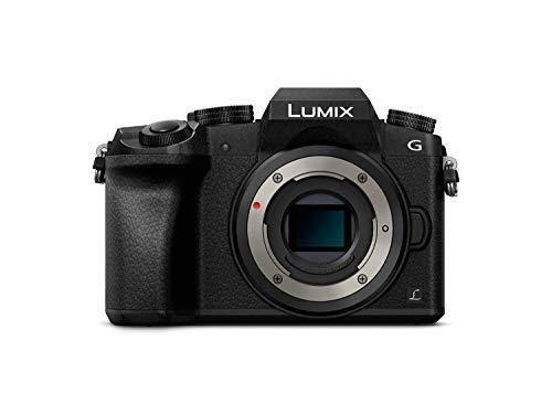 Panasonic Lumix DMC-G7 Mirrorless Micro Four Thirds Digital Camera (Black Body Only) USA Model (Kit Box)