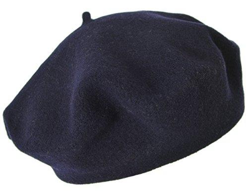 Seeberger Damen Serie Scheffau Strickmütze, Blau (Marine 0060), 57 cm (Herstellergröße: one Size)
