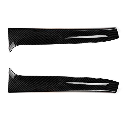IUFINUEN Ventana Trasera Spoiler Canard Splitter Gloss Black/Fibra de Carbono Busque VW Golf 7 R para Variante para WAGEN 2014-2017 (Color : Carbon Fiber)