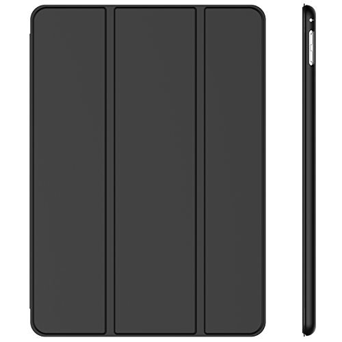 JETech Case for iPad Pro 9.7-Inch 2016 Model (Not for iPad 9.7 5/6 2017/2018), Smart Cover Auto Wake/Sleep, Black
