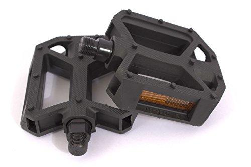 KHE United BMX PVC Plattform Pedale schwarz 9/16