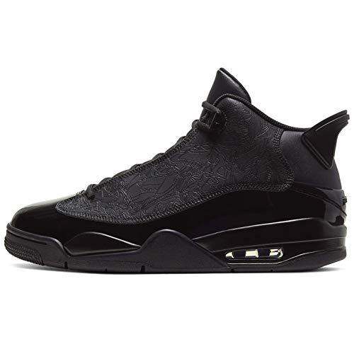 Nike Herren Air Jordan Dub Zero Sneaker Schwarz 44
