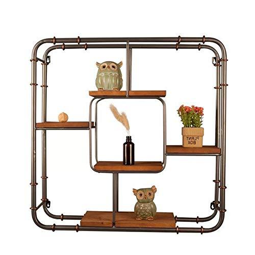 DQM Industrielles Pfeifenregal mit stilvoller Einfachheit für die Aufbewahrung von Ordnern zu Hause, geeignetes Schlafzimmer, Wohnzimmer, Badezimmer, verleihen Ihrem Schließfach