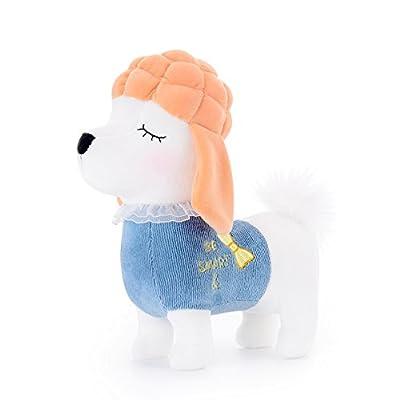 "Me Too Stuffed Shiba Inu Dog 2018 Chinese New Year Plush Puppy Animal Pet Toys 8"" (Green)"
