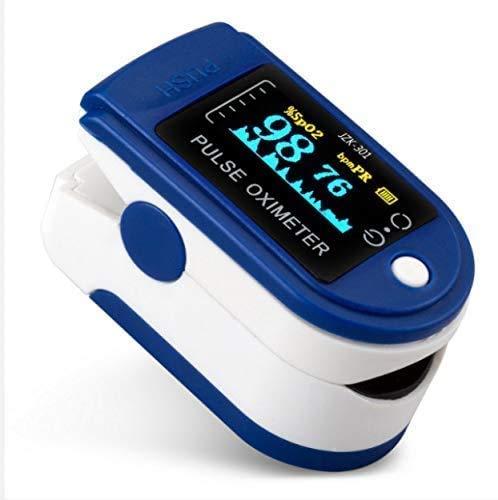 Zuvo Pulse Oximeter,Oxygen Saturation Monitor Spo2 Fingertip Pulse Oximeter...