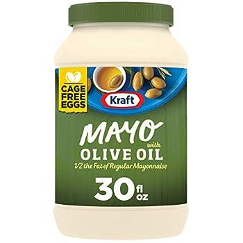 Kraft Mayo Olive Oil Mayonnaise  30 oz Jars Pack of 12