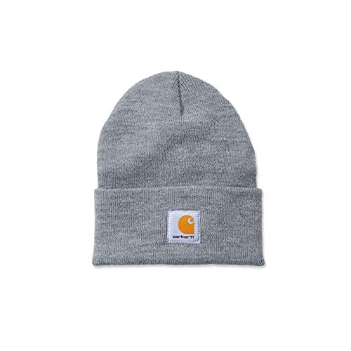 Carhartt A18 Acrylic Watch HAT One Size Heather Grey