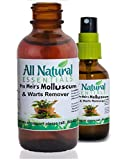 Molluscum Wart Remover Natural Skincare All Natural Pro Meir's 2oz Homeopathic Remedy Homeopathy Supplement Molluscum Contagiosum Molluscum Wart Removal Thuja Wart Liquid Kosher Adults Men Women Kids