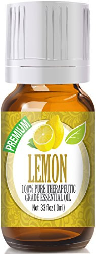 Lemon Essential Oil - 100% Pure Therapeutic Grade Lemon Oil - 10ml
