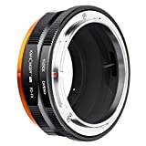K&F Concept Lens Mount Adapter Compatible for Canon FD FL Lens to Fujifilm Fuji X-Series X FX Mount Mirrorless Cameras with Matting Varnish Design for Fuji XT2 XT20 XE3 XT1 X-T2