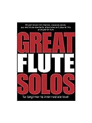Great Flute Solos. Partitions pour Flûte Traversière