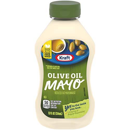 Kraft Mayo Olive Oil Reduced Fat Mayonnaise (12 oz Bottle)