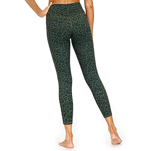 TXXT Pantalones de Yoga Mujeres Alto Elástico Fitness Deporte Gimnasio Leggings Imprimir Entrenamiento Leggings Fitness Deportes Corriendo Yoga Pantalones Atléticos Pantalones Polainas