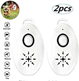 THHT Repellente per zecche delle pulci USB ad ultrasuoni 2 / 3PC, Repellente per zanzare Portatile all'aperto, Repellente per Insetti elettronico Multifunzionale (2)