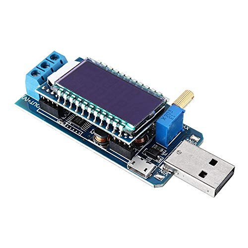 WUX698 Módulo de Prueba y Medida DC-DC 5V a 3V 3.3V 4.2V 12V USB Buck Boost Fuente de alimentación Regulador Módulo de Voltaje Módulo de alimentación de Escritorio