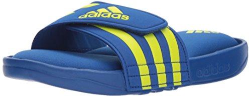 adidas Unisex-Kids Adissage Comfort K Sport Sandal, Collegiate Royal, Semi Solar Yellow, Collegiate Royal, 3 M US Little Kid