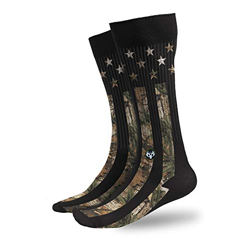 Buck Wear Camo Stars and Stripes Socken Herren 9-15