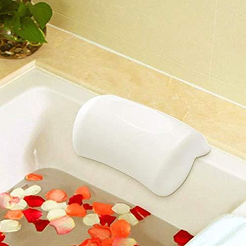 AnnSpa Badewannenkissen/Spa Kissen mit 2 Saugnäpfe rutschfest, Unterstützung für Kopf, Hals und Rücken