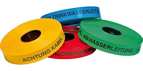 Format 4022153110289 – Zugband, Warnband, 250 m, Achtung Kabel