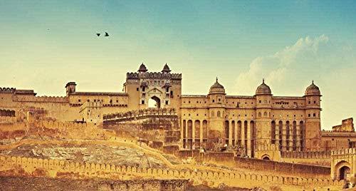 Puzzel 1000 Stukjes Tour Of Amer Fort & Anokhi Musuem Jaipur Andbeyond Puzzel Voor Volwassenen Houten Puzzel Cartoon Legpuzzels Voor Kinderen Educatief Speelgoed Geschenken Houten Speelgoed