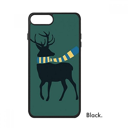 Bestchong Kerstmis Elk Sjaal Festival Patroon Voor iPhone SE 2 nieuw voor Apple 78 Case Cover