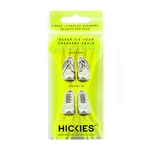 HICKIES 1.0 - Cordones sin atar, color, talla Talla única
