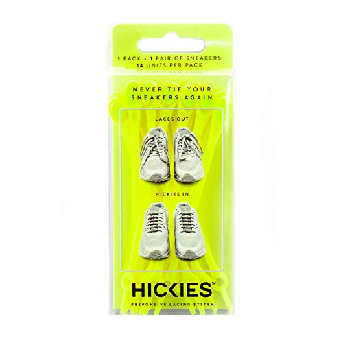 HICKIES Cordones Tie-free (1.0) - Amarillo