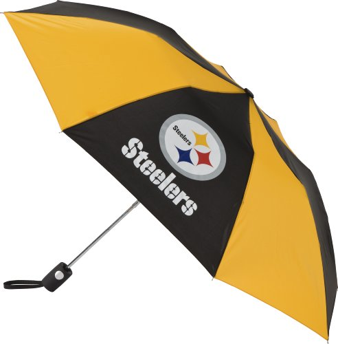 New NFL Pittsburgh Steelers Auto Folding Umbrella