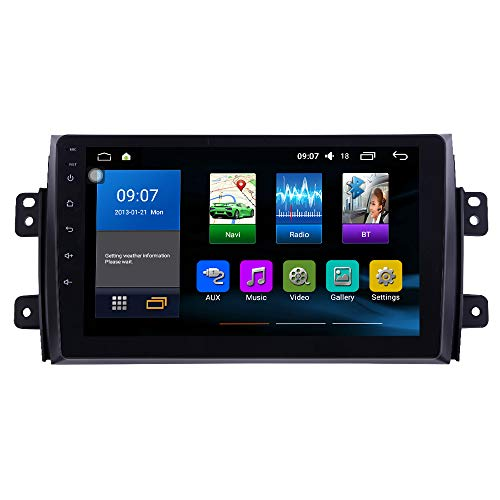 Android 10 Autoradio Car Navigation Stereo Multimedia Player GPS Radio IPS 2.5D Touch Screen for Suzuki SX4 2006-2013