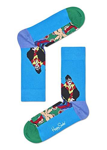 Happy Socks, bunt premium baumwolle Geschenkkarton 3 Paar Socken für Männer & Frauen, The Beatles - EP Collectors (36-40)