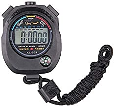 Generic Waterproof Digital LCD Stopwatch Chronograph Timer Counter Sports Alarm Xmas