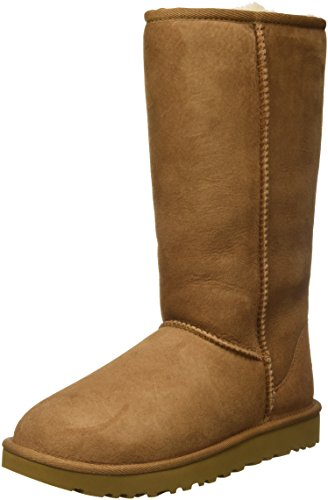 UGG Female Classic Tall II Classic Boot, Chestnut, 6 (UK)