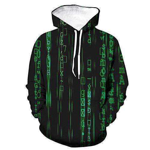 TUWEN Sweatshirt FrüHling Und Herbst Teen Mode Kleidung 3D Drucken Kreative Muster Lockere Art