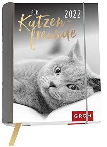 Für Katzenfreunde 2022: Wochenkalender mit 12 Postkarten (Terminplaner für die Handtasche)