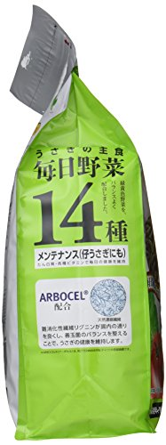 ミニマルランドうさぎの主食毎日野菜14種メンテナンスお徳用1.4kg