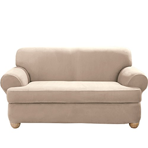 Best slipcover for loveseat with 2 separate cushion seats leather for 2020