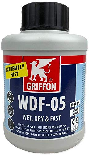 well2wellness® WDF-05 PVC Kleber 250ml Dose mit Spezialbürste