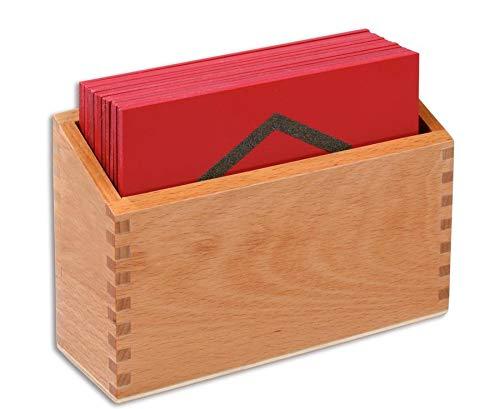 Betzold 86749 - Sandpapier, geometrische Formen - 13 Tastplatten, Sinnesmaterial
