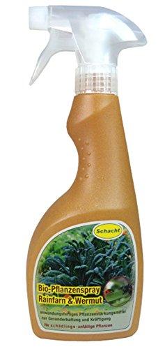 Schacht 1biosprw500 Bio-Pflanzenspray Rainfarn & Wermut Pflanzenstärkungsmittel, 500 ml