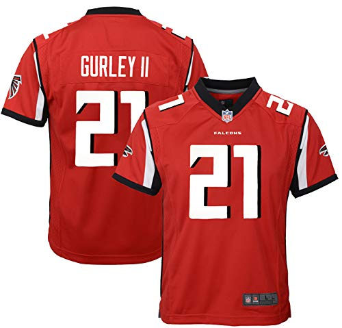 Todd Gurley Atlanta Falcons #21 Red Youth Home Game Day Jersey (18-20)