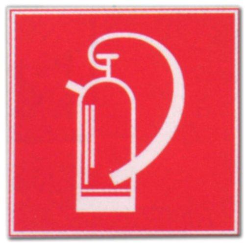 Hinweisschild - Feuerlöscher - Feuer Löscher Löschen Schild Warnschild Warnzeichen Arbeitssicherheit Türschild Tür Kunststoff Kunststoffschild Geschenk Geburtstag T-Shirt
