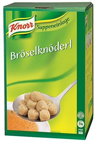 Knorr Bröselknöderl (traditionelle Suppeneinlage) 1er Pack (1 x 3kg)