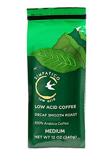 Simpatico Low Acid Coffee - Decaf (Ground) - 12 oz