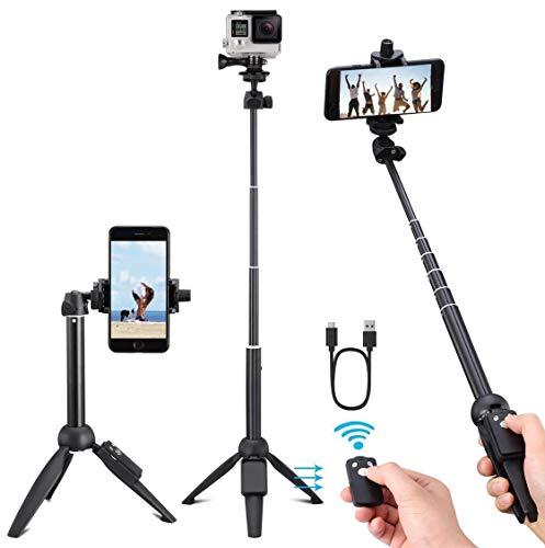 Yunteng 40 Zoll Selfie Stick,...